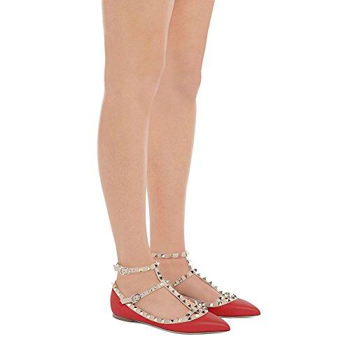 Opaco Rosso Rosso Lutalica Lutalica Donna Balletto Lutalica Opaco Donna Balletto BnxpwRxEqT
