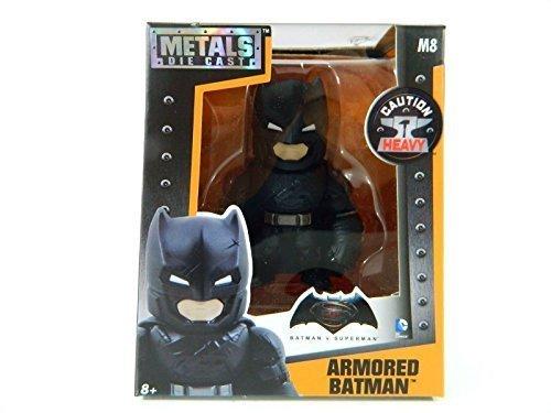 Jada Metals Die Cast 4 Inch Action Figure Armored Batman Dawn of Justice M8