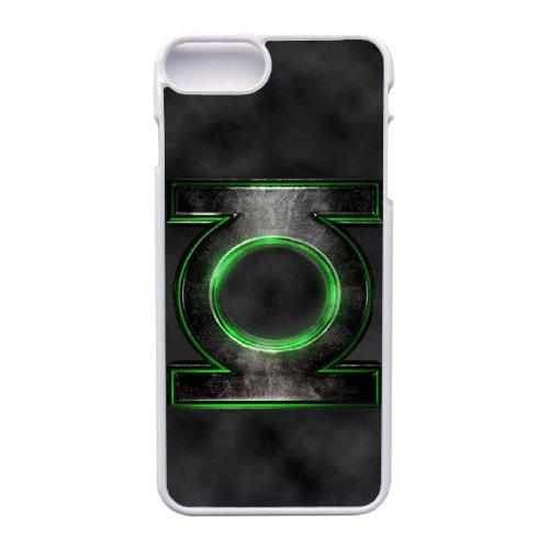 Apple iphone 7 Plus (5.5 inch) Case, Green Lantern Superhero Logo Phone Case for Apple iphone 7 Plus (5.5 inch) White Plastic Ultra Slim Cover Case GHST1141228 (Generic White Lanterns)
