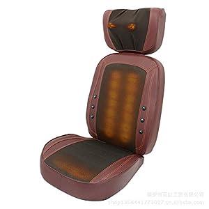 AMYMGLL Multi-function electric intelligent massage chair open back massage cushion 3D massage ball kneading infrared…
