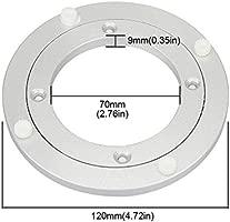 Dining-table Aluminum Lazy Susan Turntable Bearings Diameter 350mm