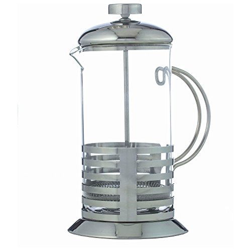 BNF KTFRPRS French Coffee Press Or Tea Maker,Clear Glass Carafe Dishwasher Safe,Heat and Cold Resistant,By Wyndham House…