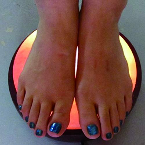 Himalayan Foot Detox Dome Salt Lamp   Remove Toxins & Relax Tired & Achy Feet   8-11lbs by Himalayan Glow (Image #7)