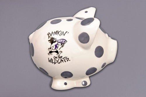 Ceramic Collegiate Piggy Bank (Kansas State Wildcats) ()