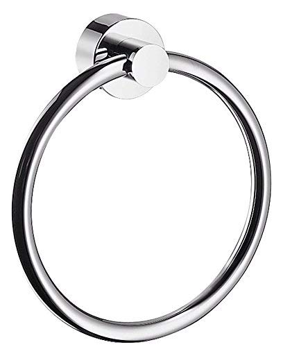- Hansgrohe 41521000 Axor Uno Towel Ring - Chrome