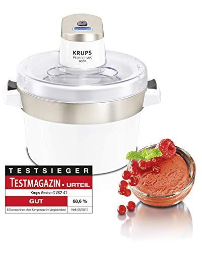 Krups Perfect Mix 9000 GVS241 Heladera, 30 W, 1.6 litros, plástico