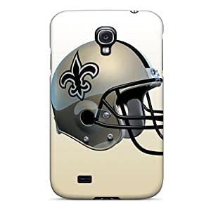 Anti-Scratch Hard Phone Cases For Samsung Galaxy S4 (fLJ4279LIQG) Provide Private Custom HD New Orleans Saints Image
