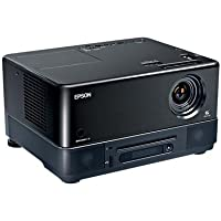 Epson MovieMate 72 High-Definition Projector, DVD and music player combo (V11H257220)