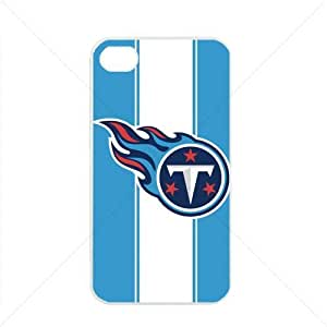 NFL American football Tennessee Titans Fans Case For Sumsung Galaxy S4 I9500 Cover PC Soft (White)