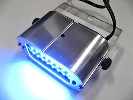 YSVS SMDLED24灯ストロボライト ブルー サウンドセンサー/常時点灯可 投光器ブルー PS24-03S