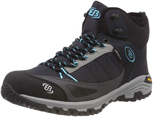 Rise Hiking Castor Tuerkis High Marine Marine Shoes Women's Tuerkis Bruetting Blue xqg1FF
