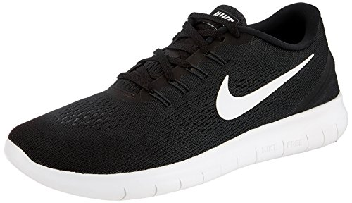 Nike Mens Free Rn Running Shoe Black/Anthracite/White (10 D(M) US)
