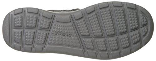 Crocs Heren Kinsale Statische Slip-on Zwart / Smoke