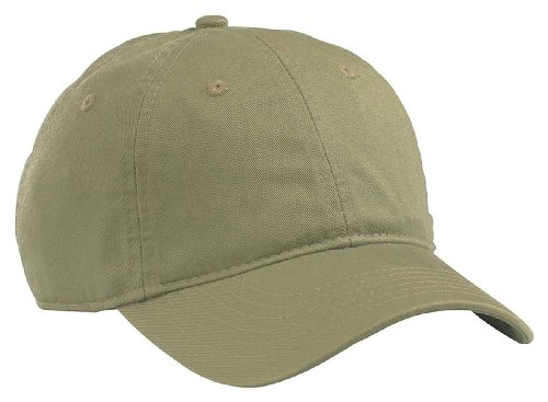 econscious 100% Organic Cotton Twill Adjustable Baseball Hat (Jungle) - 100% Cotton Cap