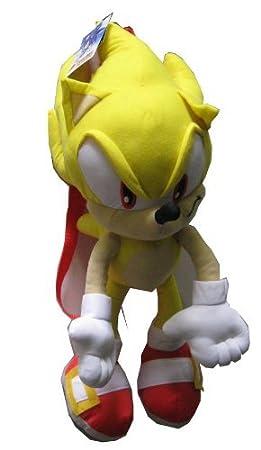 Peluche Sac A Dos Sonic Jaune By Sonic Sega Amazon Fr Jeux Et Jouets