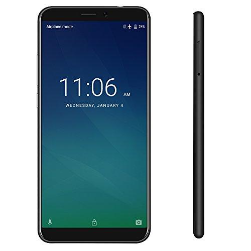 KEECOO P11 -5,7 Zoll HD (18: 9-Verhältnis Vollanzeige) Android 7.0 4G Dual SIM Smartphone, 2 GB RAM + 16 GB ROM Quad-Core Face Unlock Handy,5 MP + 8 MP kamera Smartphone ohne Vertrag