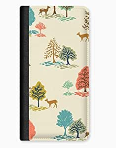 Country Bumkin Trees & Colour iPhone 5c Leather Flip Case