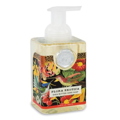 Michel Design Works Flora Exotica Foaming Soap, 17.8-Ounce