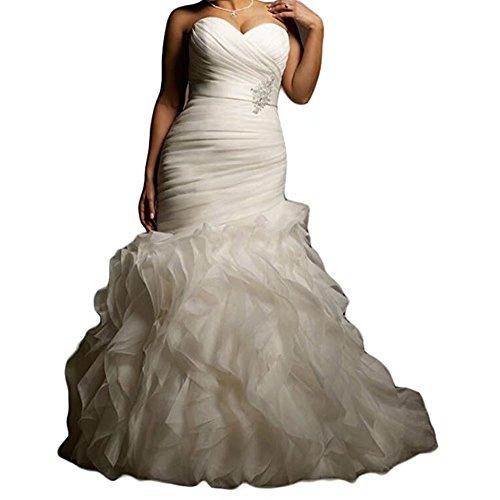Organza Bridal Wedding Gown - 3