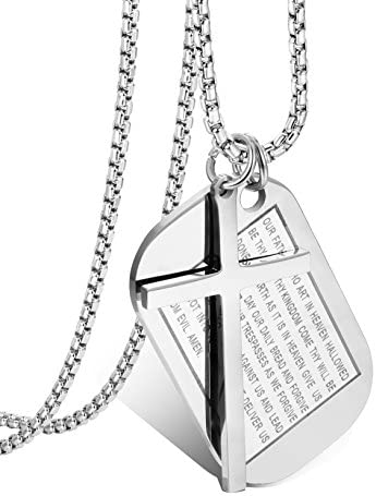 Jstyle Stainless Necklaces Necklace Military product image