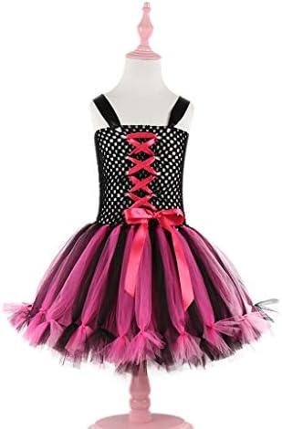 MAYOGO Halloween Bebe Niña Vestido Princesa sin Mangas Tul ...