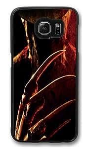 Samsung Galaxy S6 Case,Freddy Krueger Custom PC Hard Case Cover for Samsung S6/Samsung Galaxy S6 Black