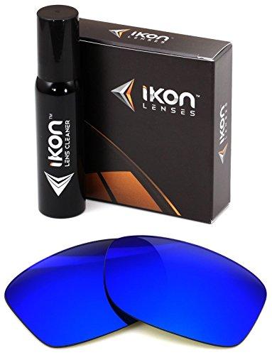 Polarized Ikon Iridium Replacement Lenses For Oakley Jupiter Squared LX Sunglasses - Deep Blue - Blue Jupiter Oakley