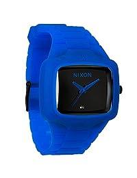 Nixon Men's Player A139306 Black Polyurethane Analog Quartz Watch
