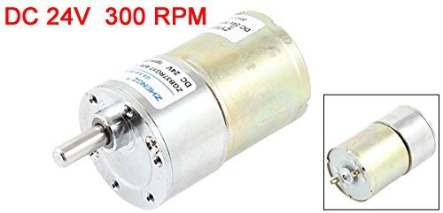 eDealMax DC 24V 0.33A 37mm Dia vitesse magnétique Geared Motor Box 300 RPM
