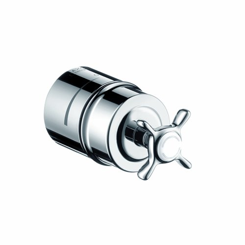 - Axor 16882001  Montreux Fix -Fit Stop with Cross Handle,  Chrome