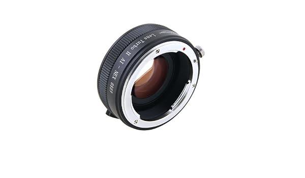 Zhongyi Mitakon Turbo II Focal Reductor Booster Adaptador de lente Nikon F AI a Sony E NEX cámara: Amazon.es: Electrónica