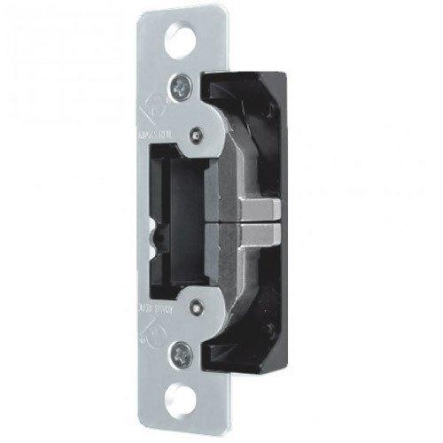 Adams Rite 7400 Series Clear Anodized Zinc Aluminum Alloy UltraLine Electric Strike, 12/24 VAC/VDC (Pack of 1)