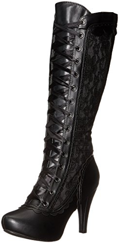 Ellie Shoes Women's 414-Mary Boot, Black, 9 M US