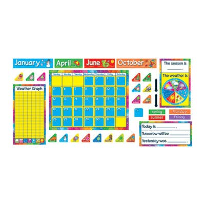 - TEPT8096 - Trend Year Around Calendar Bulletin Board Set