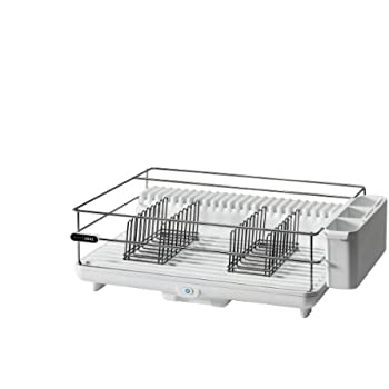 Amazon Com Bon Home Ddr100wh Heat Amp Dry Dish Rack Dish