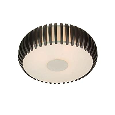 14.75-in W Expresso Standard Ceiling Flush Mount Light