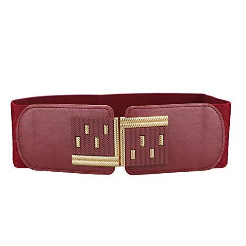 (Women's Wide Elastic Stretch Waist Cinch Belt Plus Size For Ladies Girls Valentine's Day)