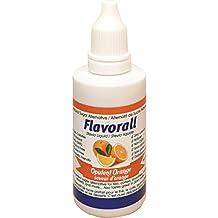 Flavorall Liquid Flavoured Stevia (Alcohol-Free), Opulent Orange, 50ml