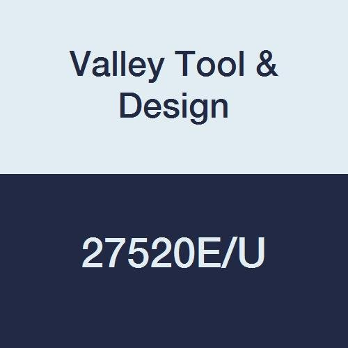 Valley Tool & Design 27520E/U Push Rod, 5/16'' Diameter, 18'' Length, Steel Plated with A Zinc