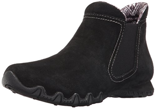 mujer Chelsea Boots Londoner Bikers Black Skechers para wE0qYYa