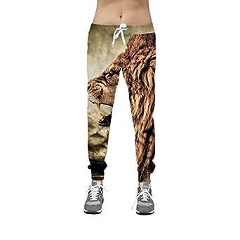 VPASS Pantalones Hombre, Chándal de Hombres 3D Impresión ...