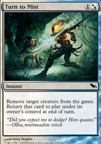 Magic: the Gathering - Turn to Mist - Shadowmoor
