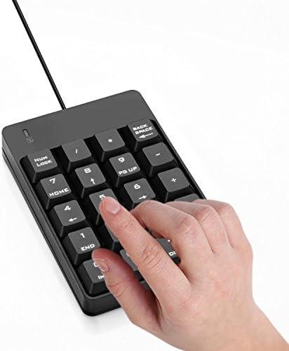 Jelly Comb Teclado Numérico USB con 19 Teclas para Ordenador ...