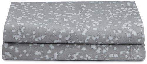 Calvin Klein Home Pressed Flower Pillowcase, Standard (Cotton Stems Blossom)
