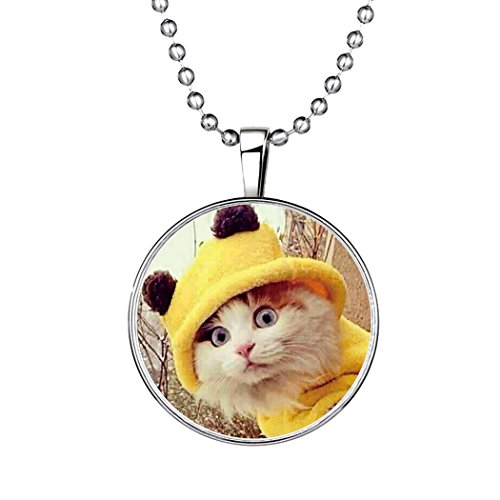 time-pawnshop-original-design-cute-cat-luminous-pendant-necklace