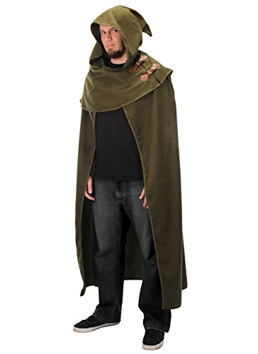 elope Elven Fantasy Cosplay Cloak in Green,Adult]()