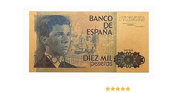 IMPACTO COLECCIONABLES España, 10.000 Pesetas en Oro de 24k ...