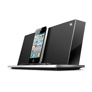 iLuv IMM288 - Altavoz con puerto dock para Apple iPhone/iPod (4 W), negro