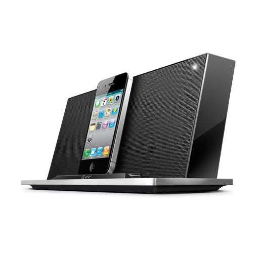 Iluv Ipod Stereo Docking - iLuv Modern Sound 30-Pin Stereo Speaker Dock