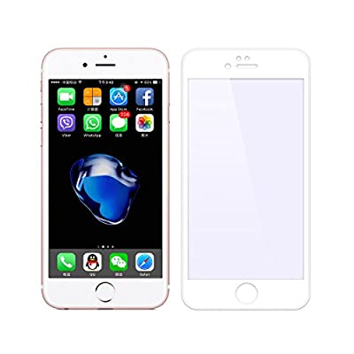 iPhone 7 Screen Protector, VIUME Full Coverage 3D Touch Compatible Tempered Glass Screen Protector for Apple iPhone 7